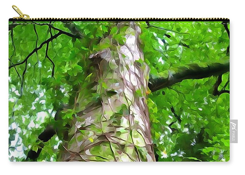 Tree Carry-all Pouch featuring the photograph The Tree by Charlie and Norma Brock