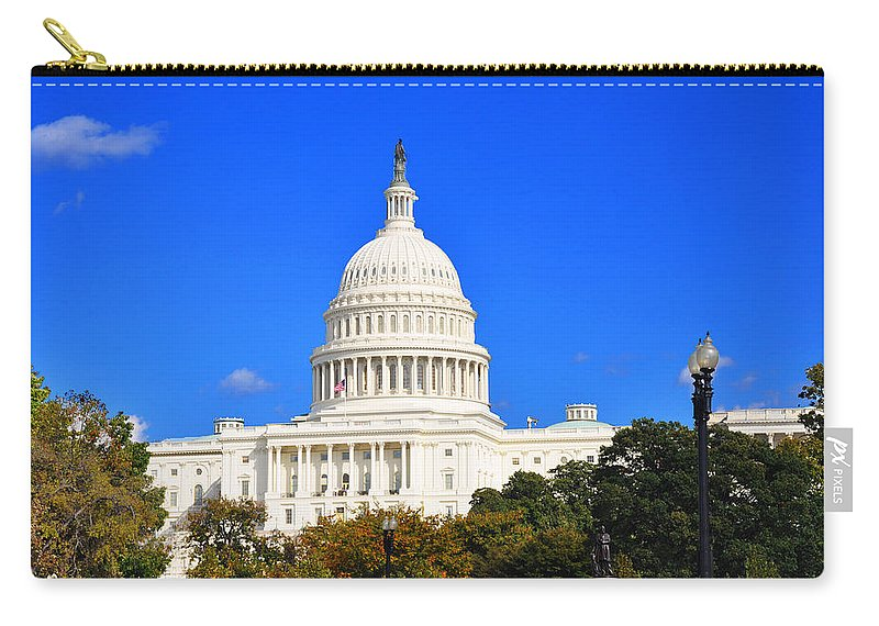United States Carry-all Pouch featuring the photograph The United States Capitol by Brittany Horton