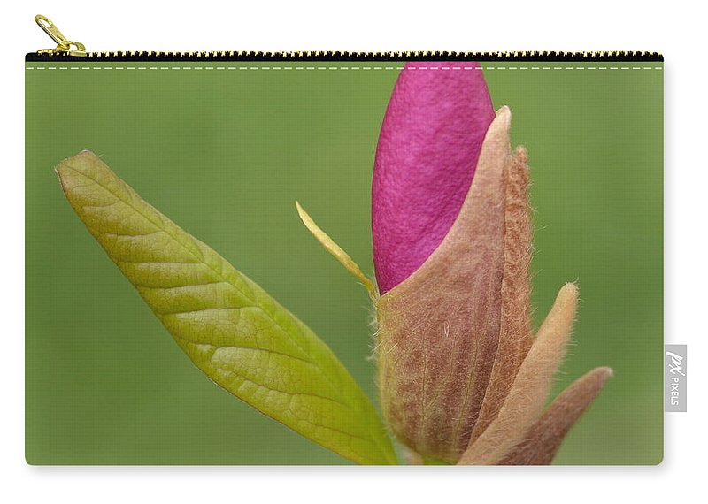 J.d. Grimes Carry-all Pouch featuring the photograph The Unvieling by JD Grimes