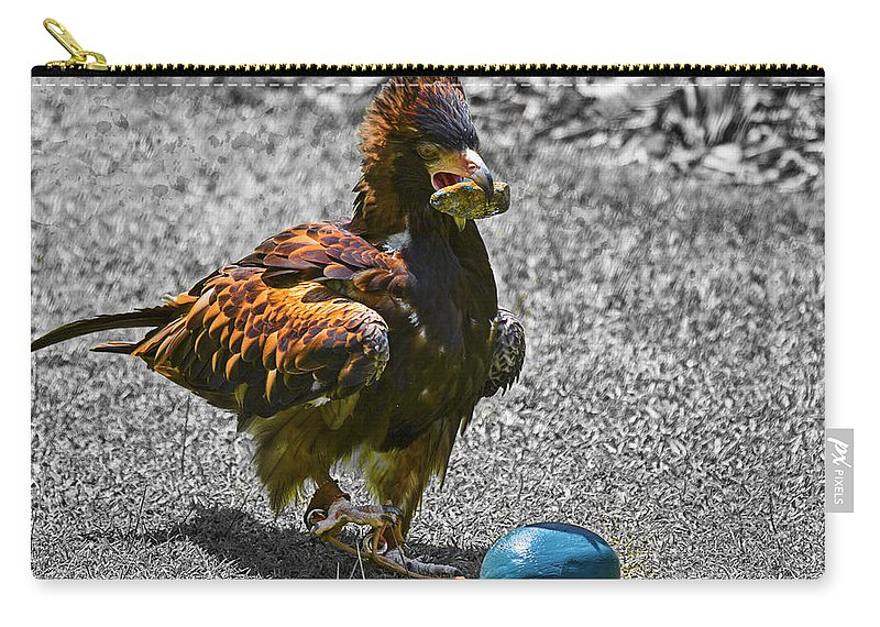 Top-end Carry-all Pouch featuring the photograph The Use Of Tools V2 by Douglas Barnard