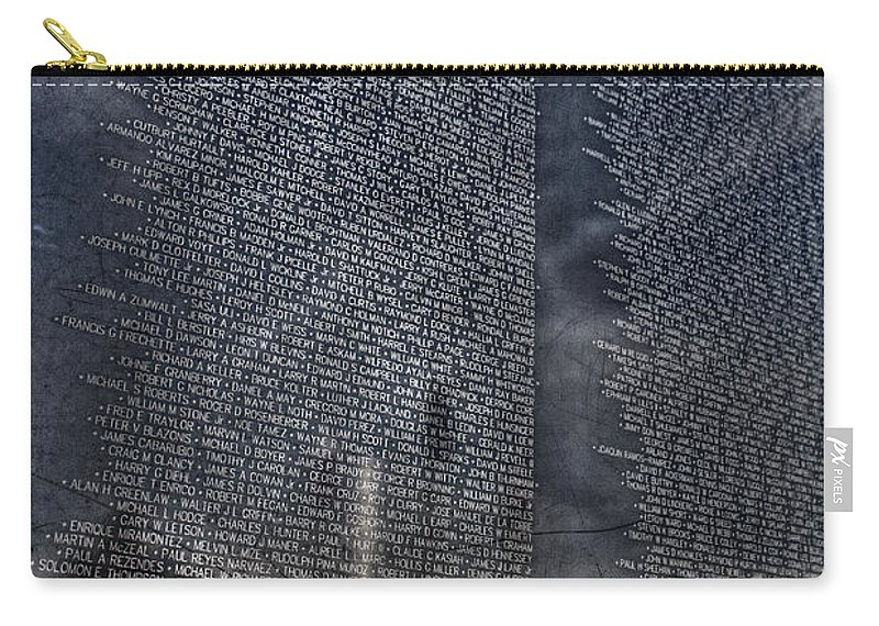 Vietnam Carry-all Pouch featuring the photograph The Wall That Heals by Tommy Anderson