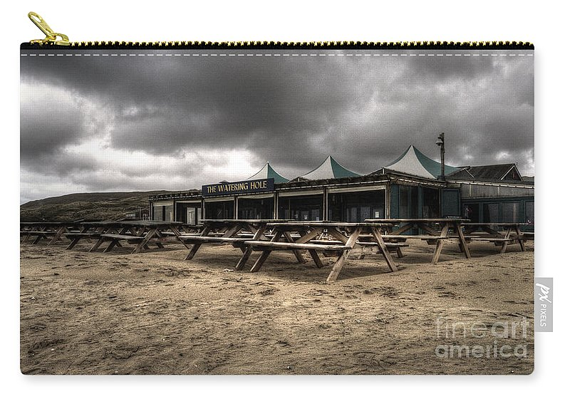 Pub Carry-all Pouch featuring the photograph The Watering Hole by Rob Hawkins