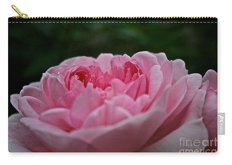 Floral Carry-all Pouch featuring the photograph The Wife Of Bath by Susan Herber