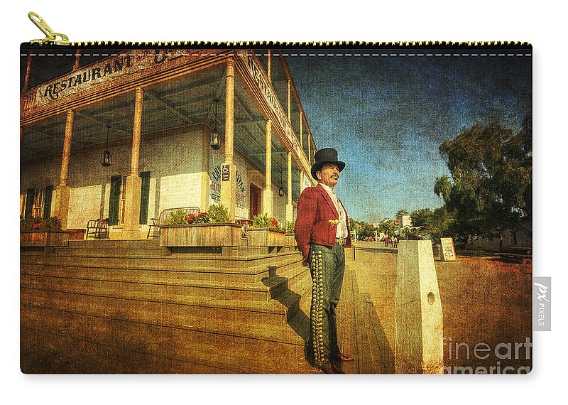 Art Carry-all Pouch featuring the photograph The Wild West by Yhun Suarez