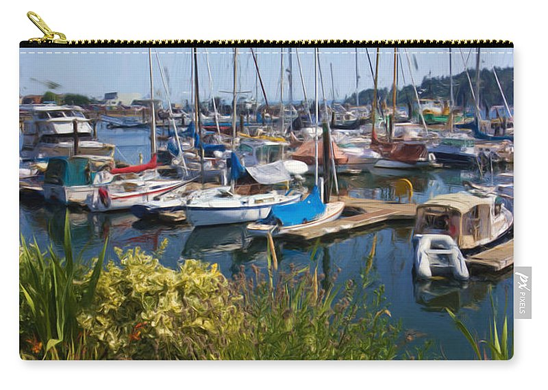 Boats Carry-all Pouch featuring the photograph They're Both Beautiful by Heidi Smith