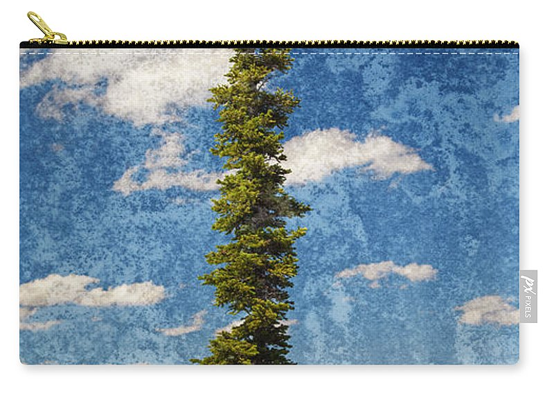 Tree Carry-all Pouch featuring the photograph Thin Air by John Stephens