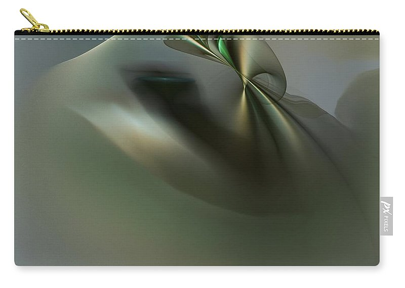Fine Art Carry-all Pouch featuring the digital art Thought Experiment 1 by David Lane