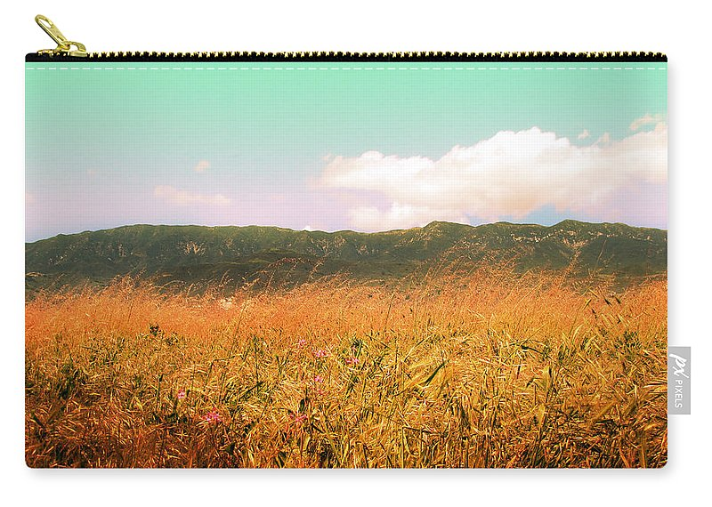 Carpinteria Carry-all Pouch featuring the photograph Through The Grasses by Kathleen Grace