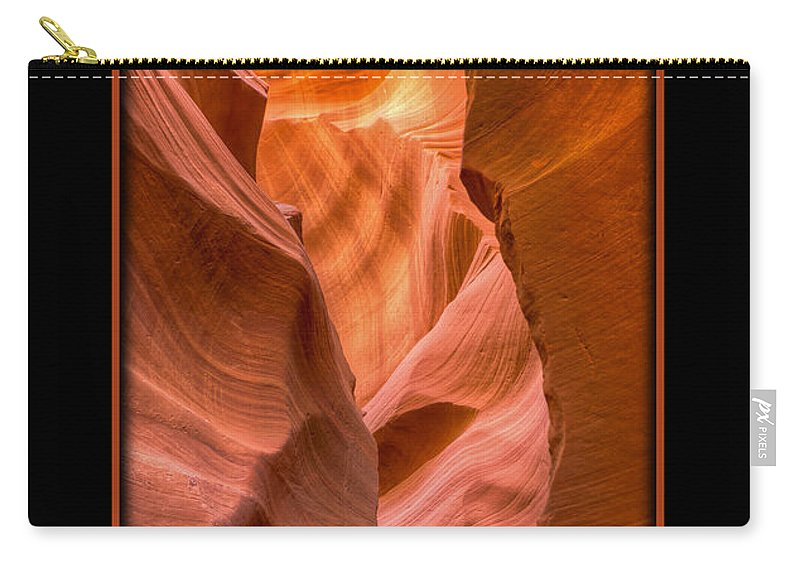 Antelope Canyon Carry-all Pouch featuring the photograph Through Way by Larry White