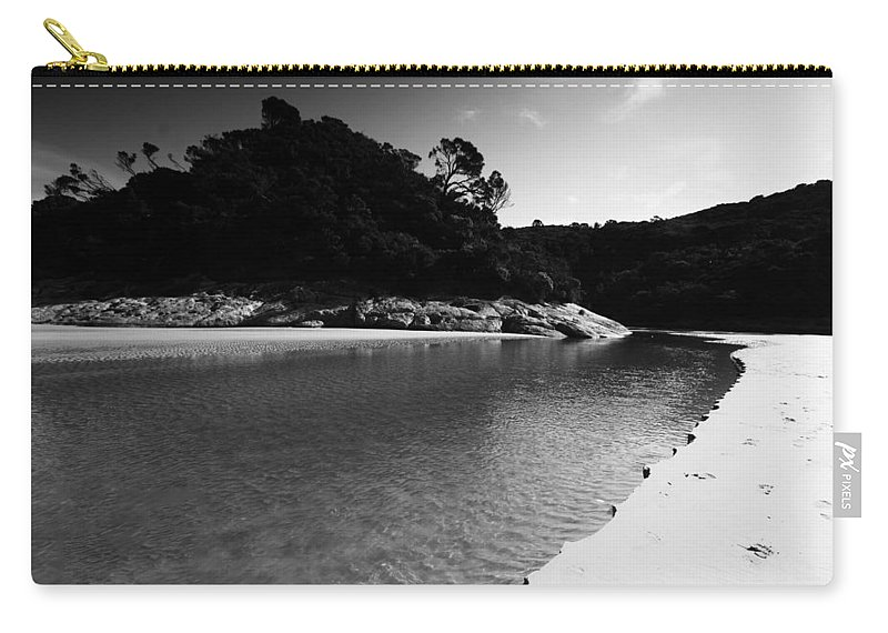 Tidal River Carry-all Pouch featuring the photograph Tidal River by Douglas Barnard