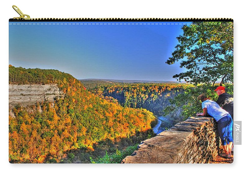 Carry-all Pouch featuring the photograph Time Spent by Michael Frank Jr