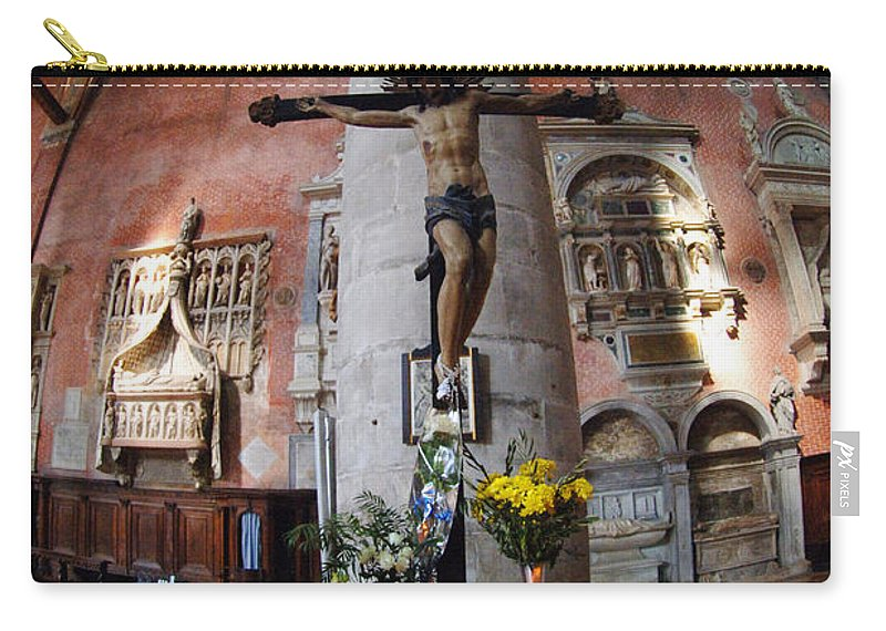 Church Carry-all Pouch featuring the photograph Time To Pray by Bob Christopher