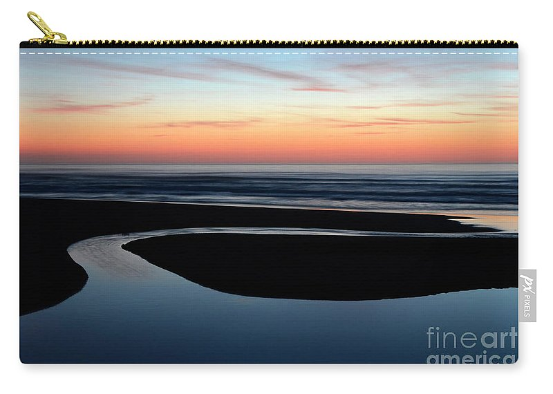 Peace Carry-all Pouch featuring the photograph Time To Wonder by Bob Christopher