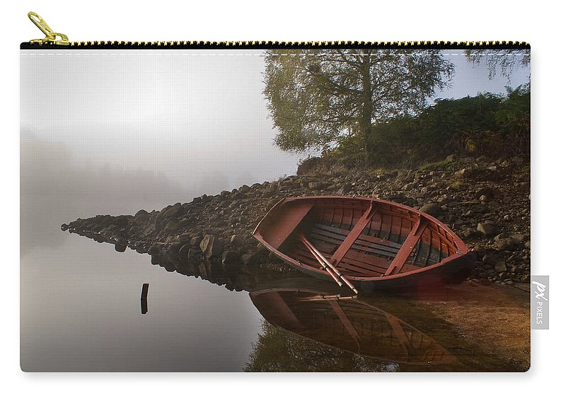 Mist Carry-all Pouch featuring the photograph Timeless Moment by Howard Kennedy