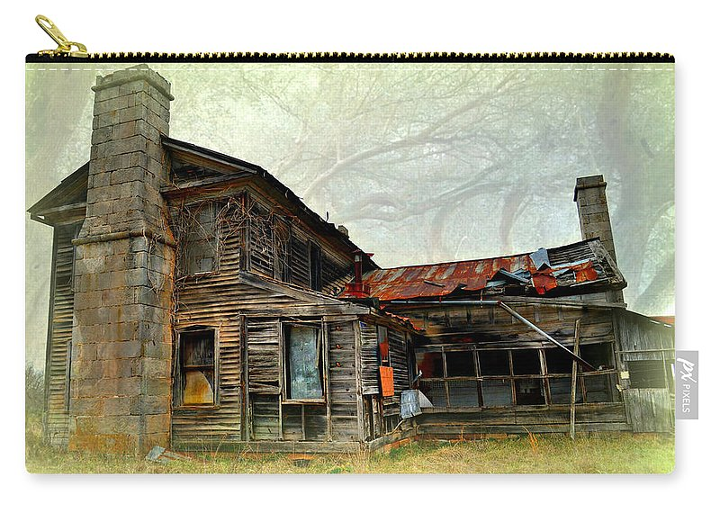 House Carry-all Pouch featuring the photograph Times Long Gone by Marty Koch