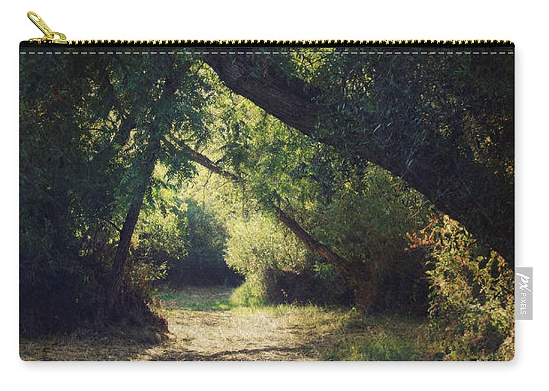 Landscapes Carry-all Pouch featuring the photograph To My Happy Place by Laurie Search