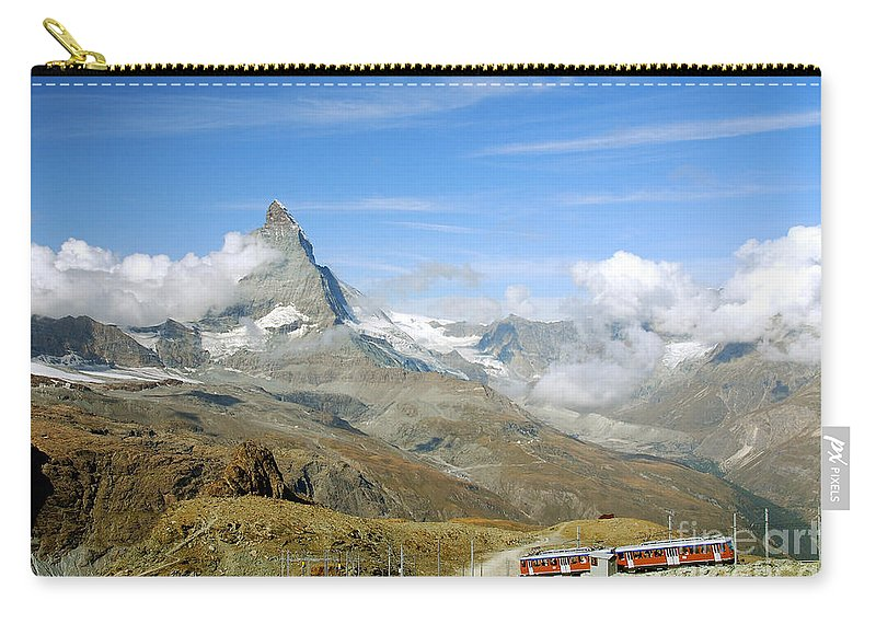 Photography Carry-all Pouch featuring the photograph To The Summit by Ivy Ho
