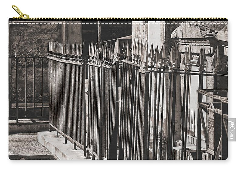 Vault Carry-all Pouch featuring the photograph Tombs Of St. Louis Number One Cemetery New Orleans by Kathleen K Parker