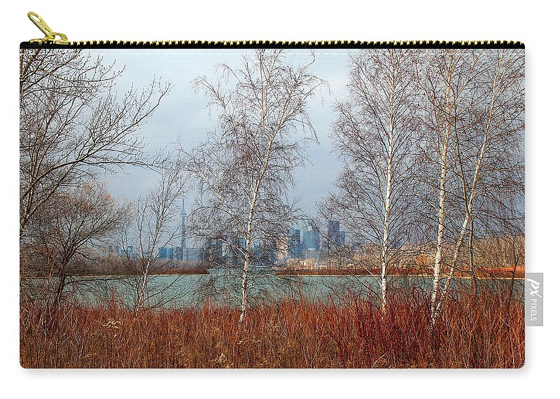 Toronto Skyline Carry-all Pouch featuring the photograph Toronto Skyline 14 by Andrew Fare