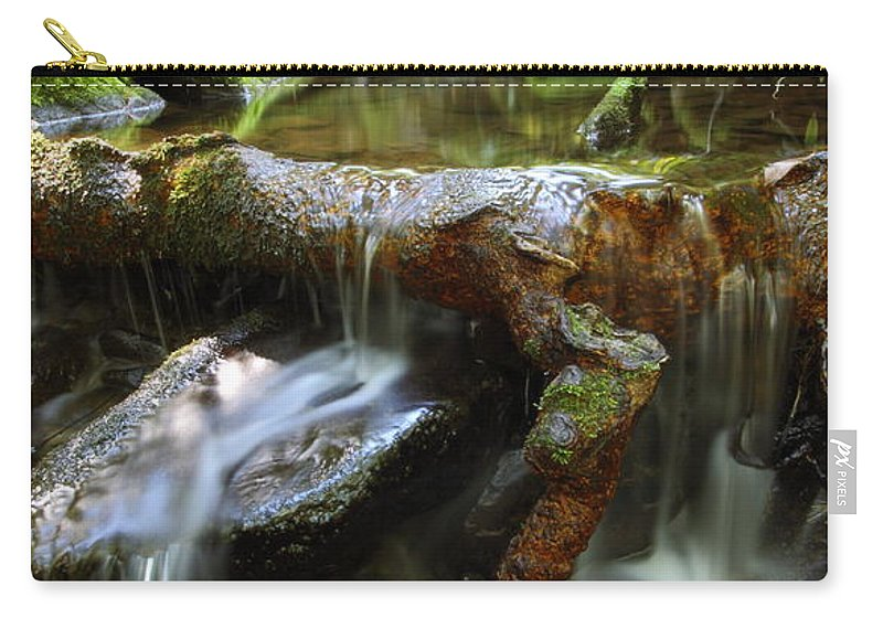 Water Carry-all Pouch featuring the photograph Tranquility Above Dali by Andrew McInnes