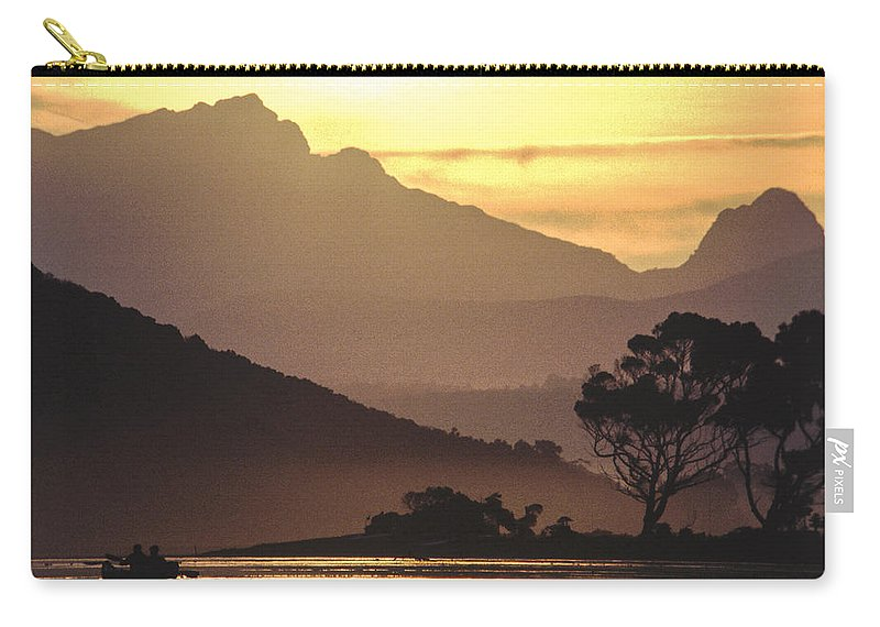 Sunset Carry-all Pouch featuring the photograph Tranquility by Alistair Lyne