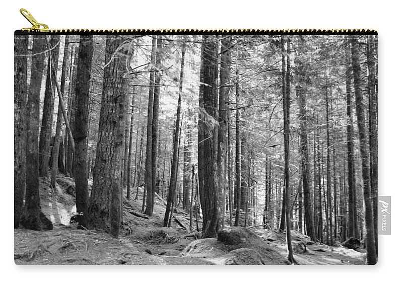 Trees Carry-all Pouch featuring the photograph Trees by Michael Merry