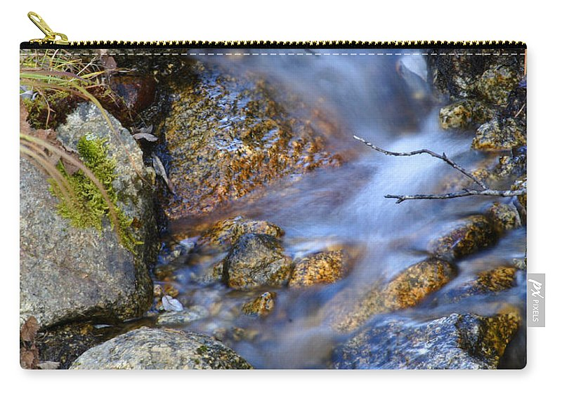 Doug Lloyd Carry-all Pouch featuring the photograph Trickle by Doug Lloyd