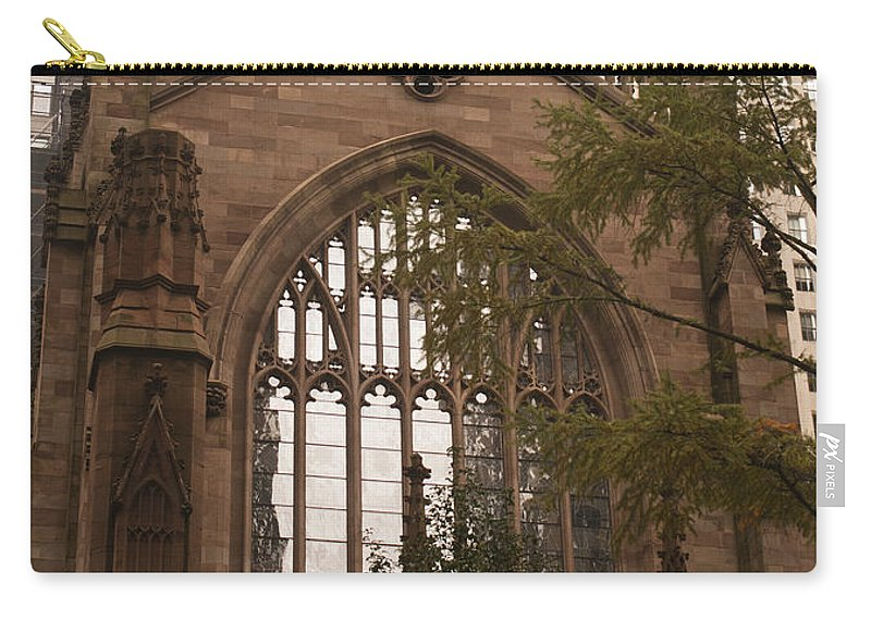 Trinity Church Carry-all Pouch featuring the photograph Trinity Church 3 by Teresa Mucha