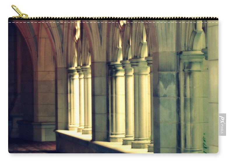 Trinity College Carry-all Pouch featuring the photograph Trinity by Marysue Ryan