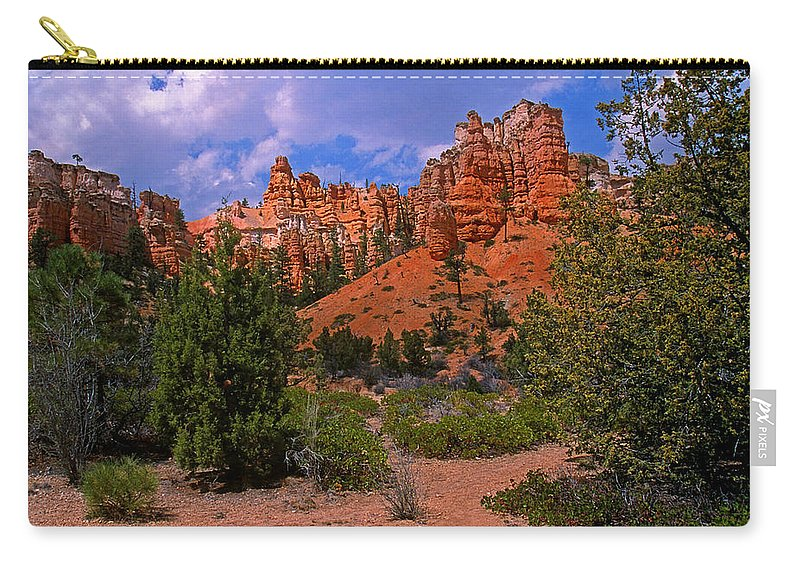 Utah Carry-all Pouch featuring the photograph Tropic Canyon by Rich Walter
