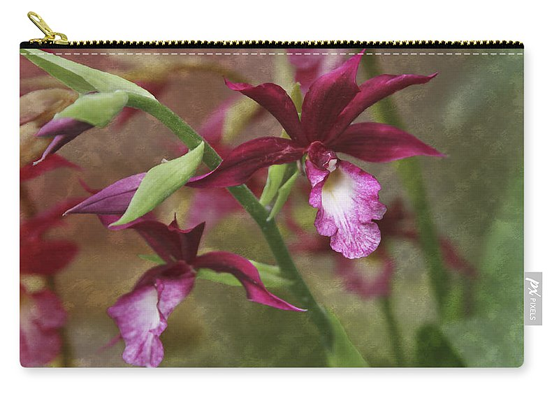 Garden Carry-all Pouch featuring the photograph Tropical Beauty by Debra and Dave Vanderlaan