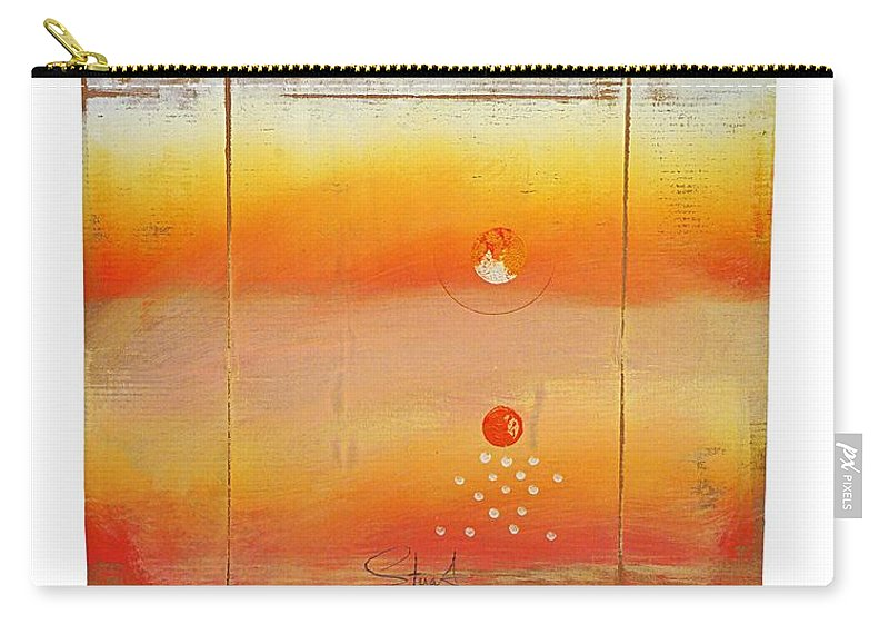 Seascape Carry-all Pouch featuring the digital art Turner Box Two by Charles Stuart