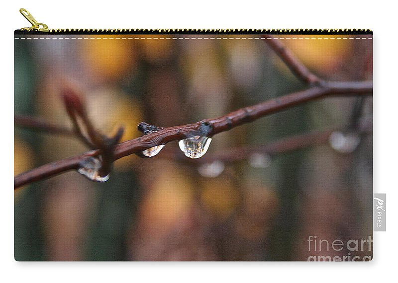 Outdoors Carry-all Pouch featuring the photograph Twig by Susan Herber