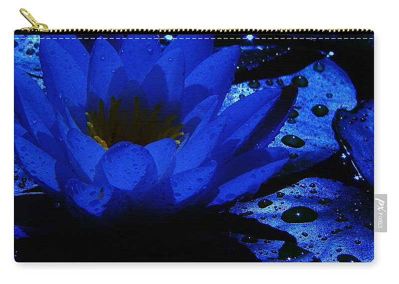 Water Lily Carry-all Pouch featuring the photograph Twilight by Barbara St Jean