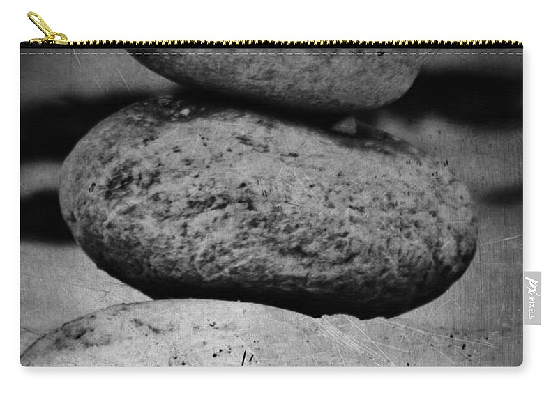 Jerry Cordeiro Carry-all Pouch featuring the photograph U R My Rock by The Artist Project