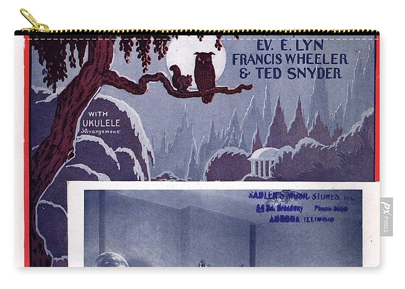 Classic Carry-all Pouch featuring the photograph Under The Moon 2 by Mel Thompson