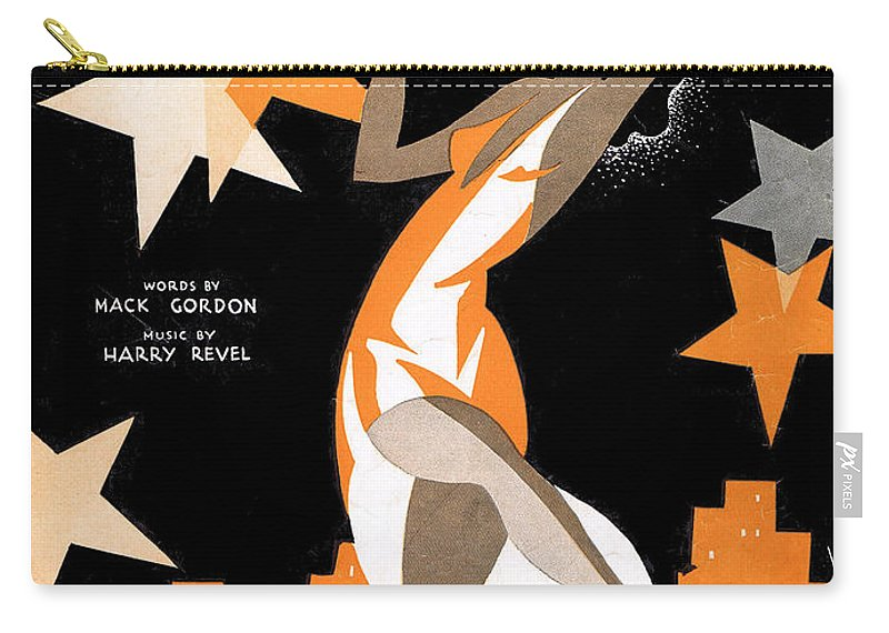 Classic Carry-all Pouch featuring the photograph Underneath The Harlem Moon 2 by Mel Thompson