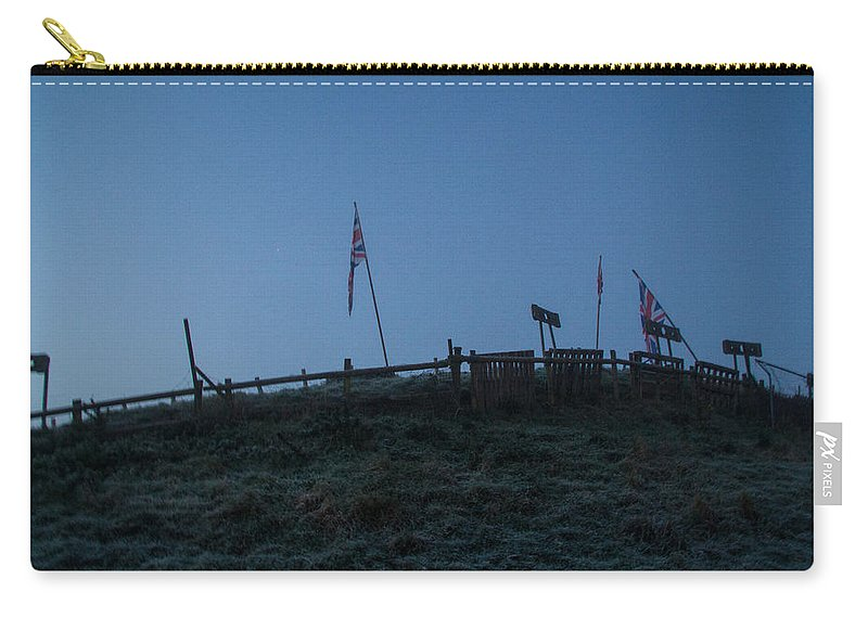 Union Jack Carry-all Pouch featuring the photograph Union Hill by Dawn OConnor