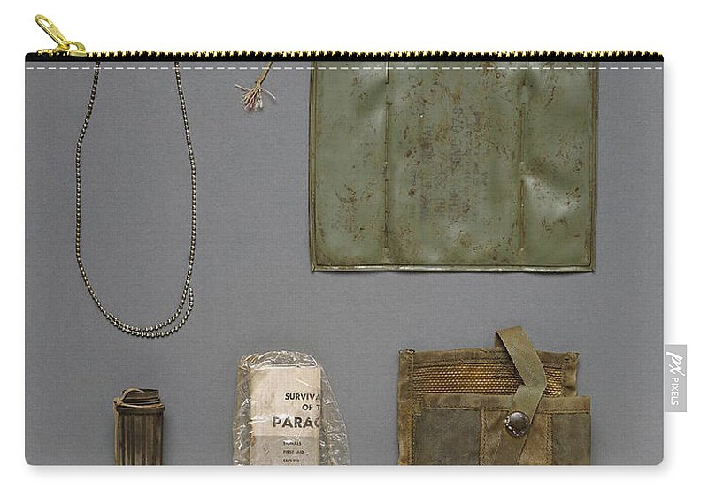 Science Carry-all Pouch featuring the photograph Unknown Soldier Identified by Science Source