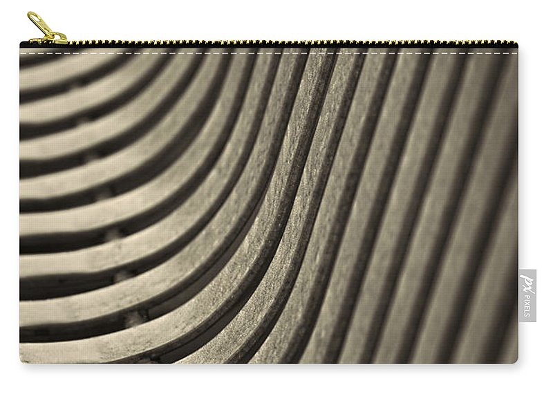 Abstract Carry-all Pouch featuring the photograph Upward Curve. by Clare Bambers