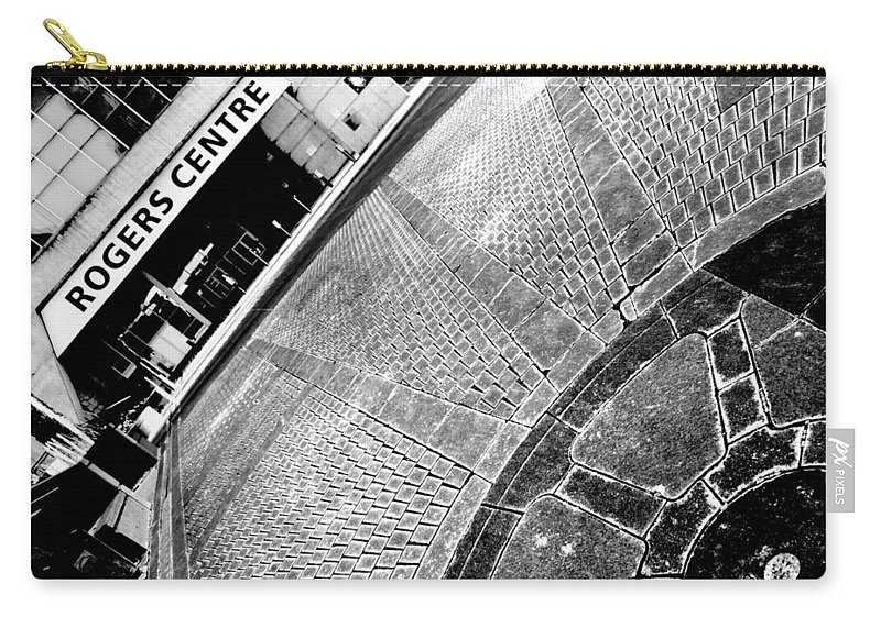 Urban Carry-all Pouch featuring the photograph Urban Pattern by Valentino Visentini