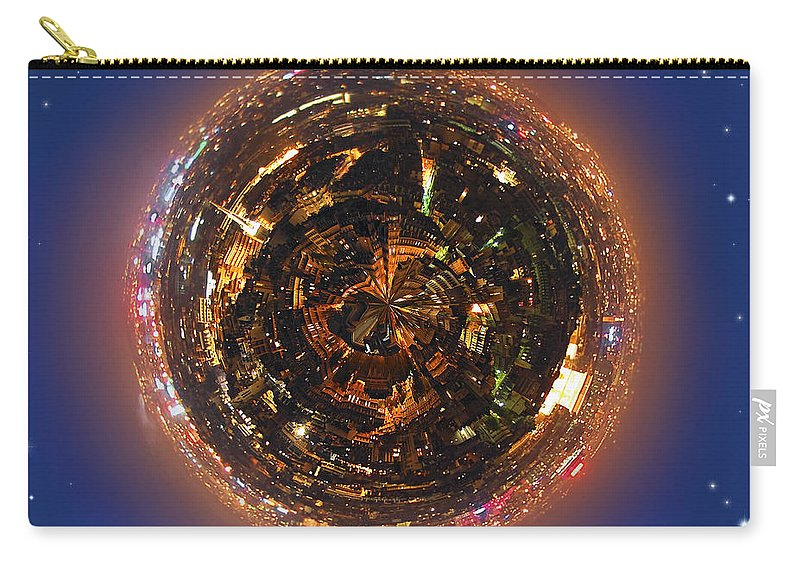 Urban Carry-all Pouch featuring the photograph Urban Planet by Elena Elisseeva