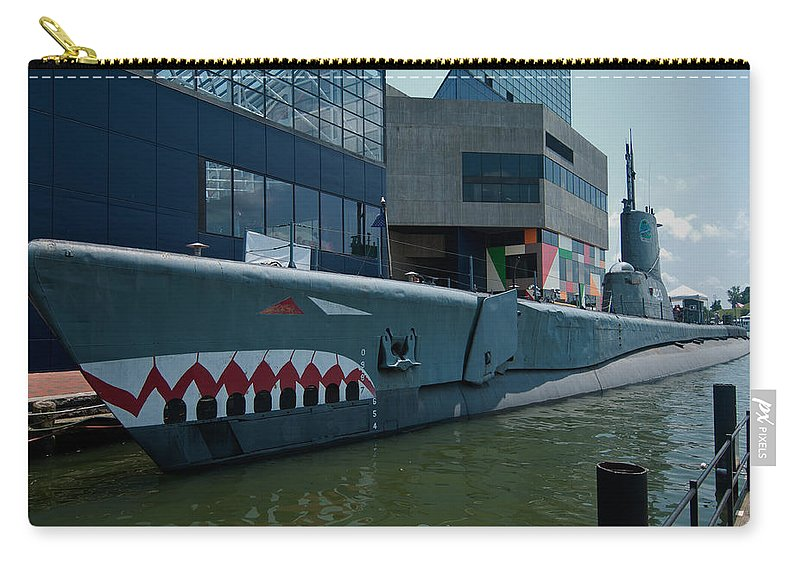uss Torsk Carry-all Pouch featuring the photograph Uss Torsk by Paul Mangold