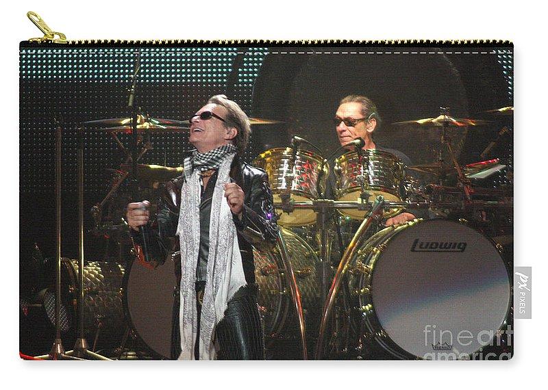 Van Halen Carry-all Pouch featuring the photograph Van Halen-7072 by Gary Gingrich Galleries