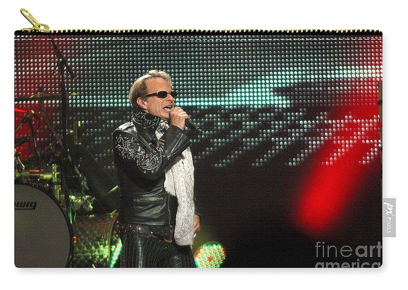 Van Halen Carry-all Pouch featuring the photograph Van Halen-7083 by Gary Gingrich Galleries