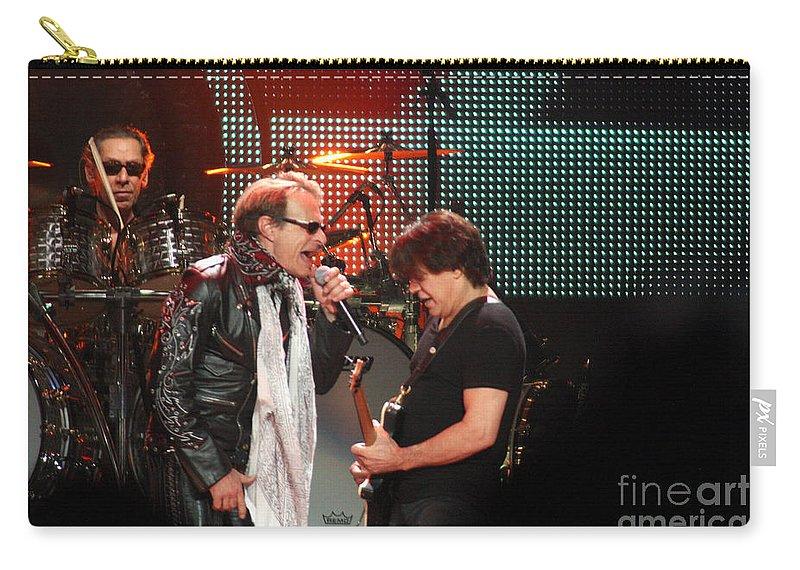 Van Halen Carry-all Pouch featuring the photograph Van Halen-7127 by Gary Gingrich Galleries
