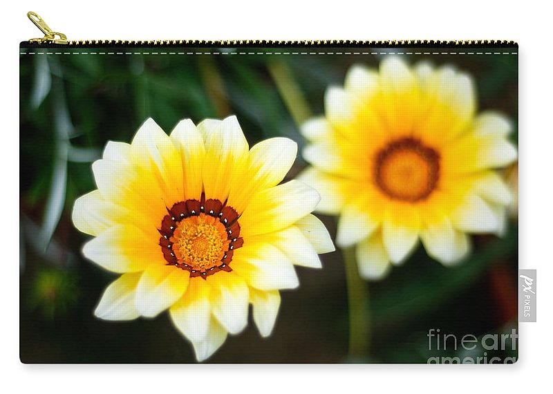 Flower Carry-all Pouch featuring the photograph Vanilla Story by Syed Aqueel