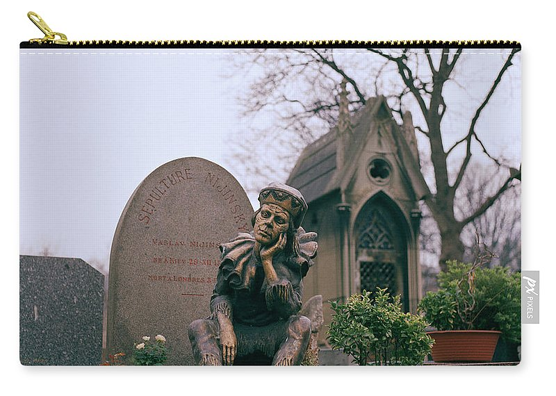 Ballet Carry-all Pouch featuring the photograph Nijinsky by Shaun Higson