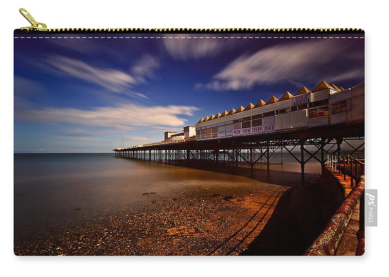 Pier Carry-all Pouch featuring the photograph Victoria Pier by Adrian Evans