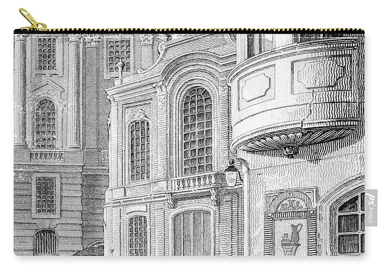 1782 Carry-all Pouch featuring the photograph Vienna: Hofburgtheater by Granger